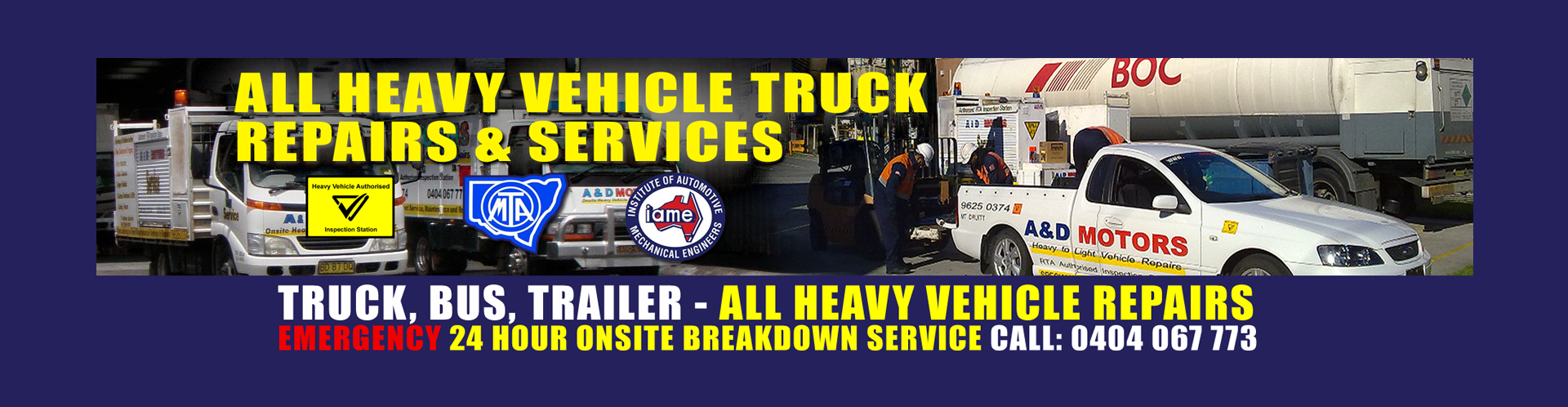 Fleet Truck Repairs Sydney